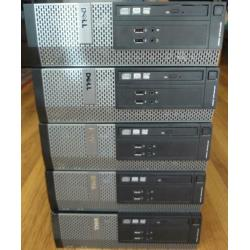 Dell Optiplex i5-4590 4e generatie complete desktops!