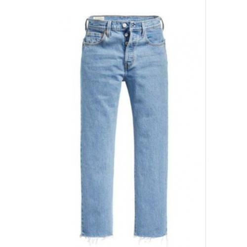 NIEUW levi's 501 cropped jeans
